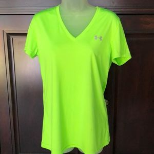 Under Armour Lime Green Shirt